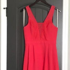 Size 6 BCBGeneration coral mini dress